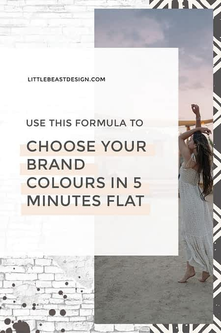 Formula to Choose Your Brand Colours in 5 Mins Flat