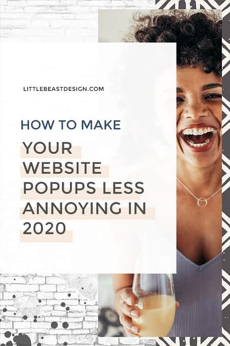 How to make your website popups less annoying in 2020