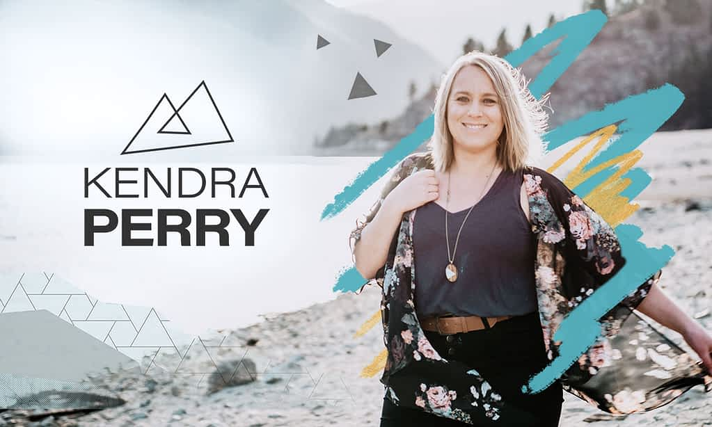 Kendra Perry - Brand Poster designed by Tracy Raftl