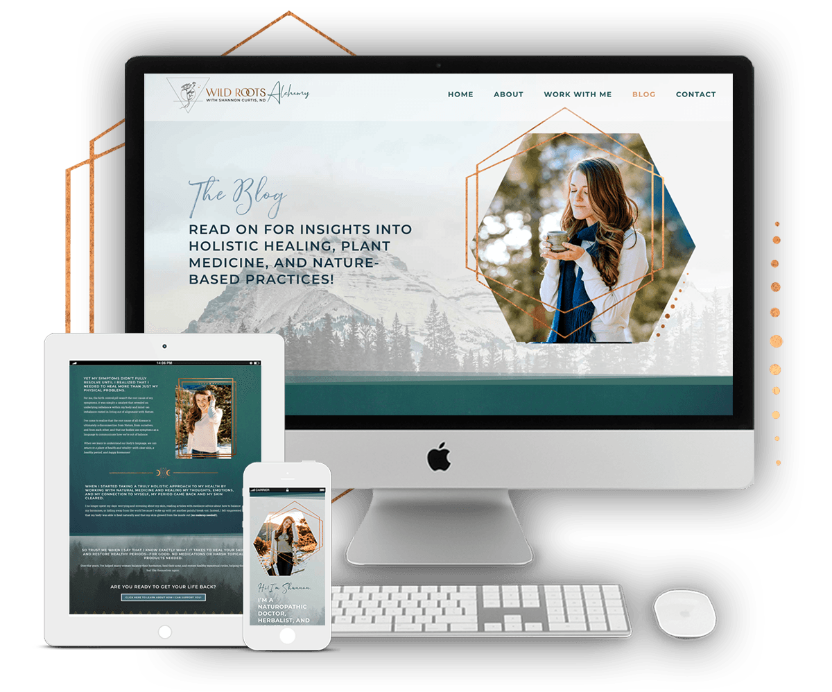 Image of Brand & Web Design for Dr. Shannon Curtis, ND - Women's Naturopath