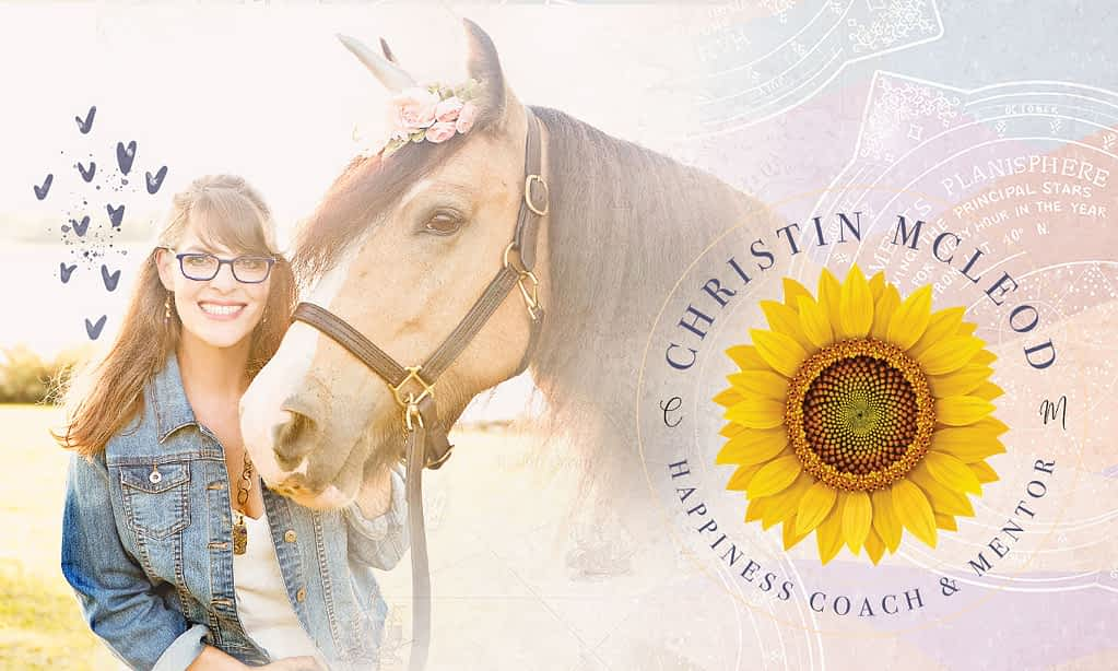 Christin McLeod's brand poster | by Tracy Raftl Design