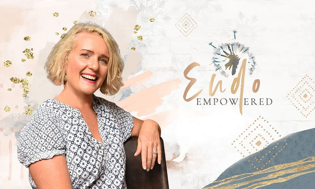 Mel Turner, Endo Empowered brand poster by Tracy Raftl Design
