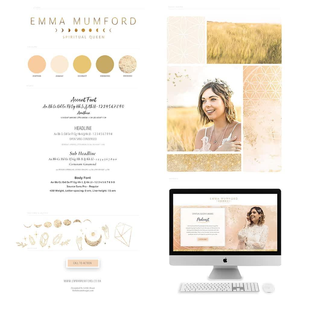 Emma Mumford style guide by Tracy Raftl Design