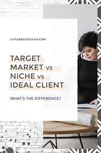 Target Market vs Niche vs Ideal Client