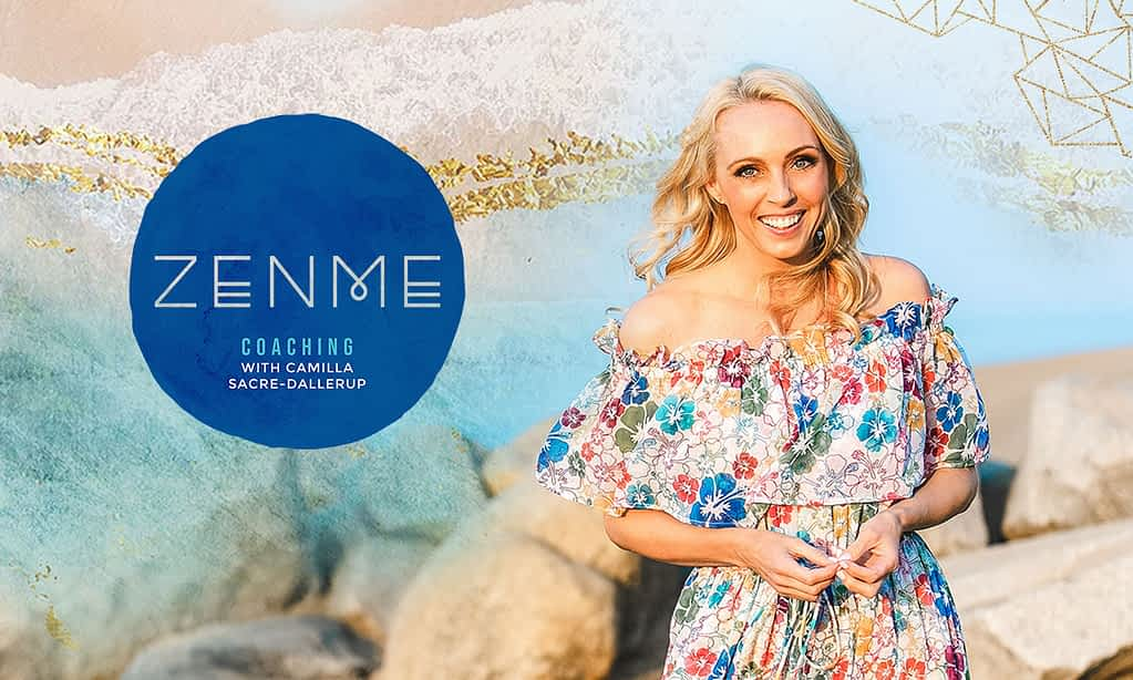 Camilla Sacre-Dallerup, life coach - Brand Poster designed by Tracy Raftl