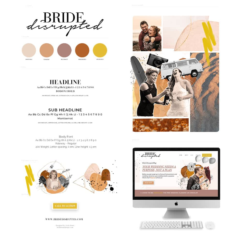 Bride Disrupted Style Guide