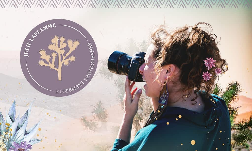 Julie Laflamme, Photographer - Brand Poster designed by Tracy Raftl