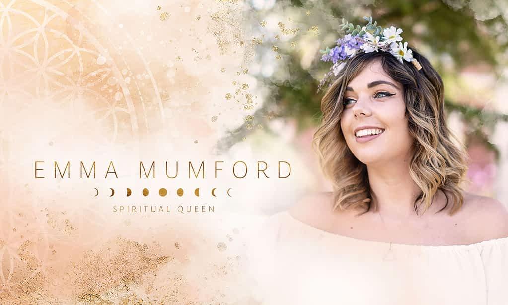 Emma Mumford brand poster by Tracy Raftl Design