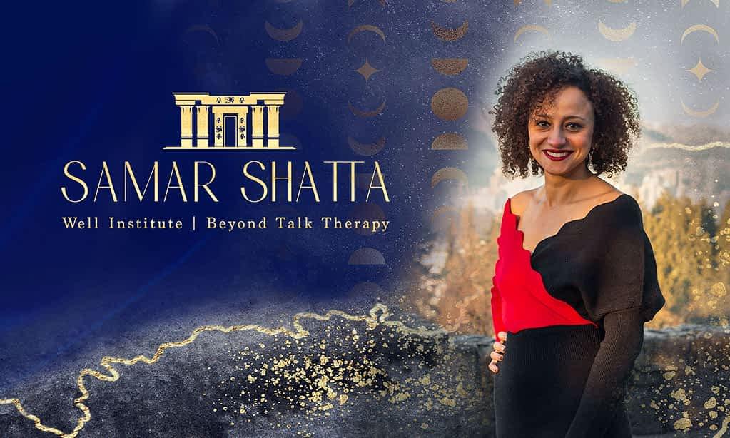 Samar Shatta brand poster by Tracy Raftl Design